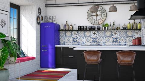 Boho Kitchen - Kitchen - by Lizzy0715