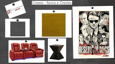 Kenya e Orestes 02 - by walldressingdecor