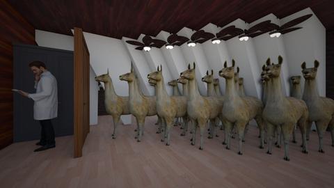 The Llama room - Retro - by Makena Hamilton