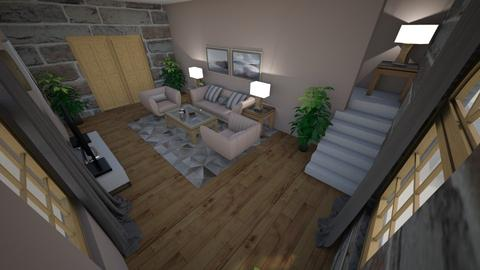 family home 74 - Modern - Living room - by Stavroula Chatzina