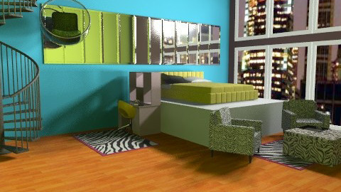 Bright room - Modern - Bedroom - by TheAlgonaGirl
