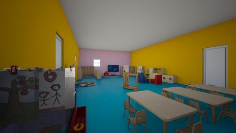 Floorplan 2 Mikaija  - Kids room - by MYYCURJQLMRURBEZABCBUGFEBJXMPLT