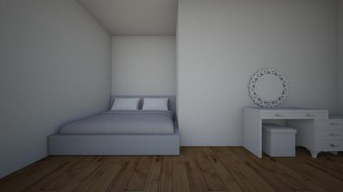 white room  - Bedroom - by tilda29