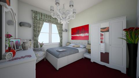 Master bedroom - Vintage - Bedroom - by wiefanz