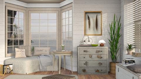 Neutrals 9 - Living room - by Sally Simpson