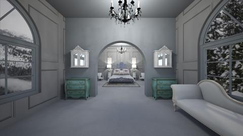french - Bedroom - by belle alderton