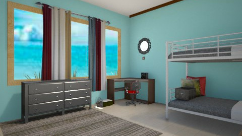 My personal room - Modern - Bedroom - by Roxanne Shelby