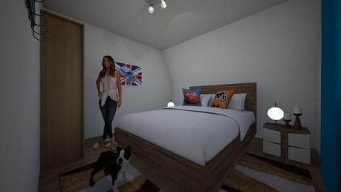 mihai23M - Bedroom - by dianajin