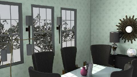 ROOM NN - Dining Room - by asifgoldpk