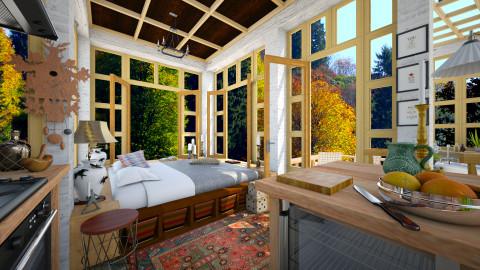Eat Sleep Love - Living room - by russ