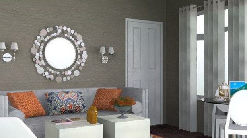 Domesticnovice - LR1 - Glamour - Living room - by AlSudairy S