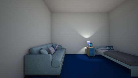 Azulio guest room - by daraogunlowo