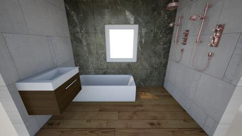 337 BR Bot front wall del - Bathroom - by exbiker