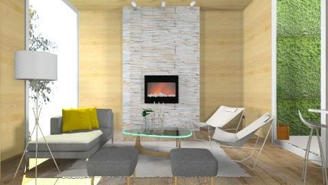 Linda - Retro - Living room - by Baustin