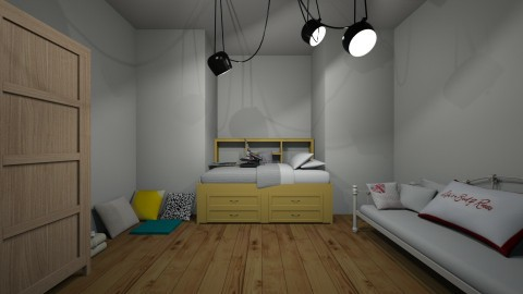 mias bedroom  - Bedroom - by deleted_1508269637_clemencevilmay