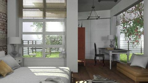 Zebra - Eclectic - Bedroom - by du321