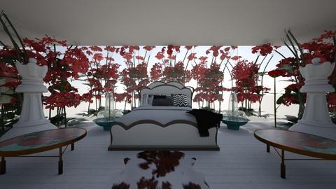 Roses and Drugs - Feminine - Bedroom - by iampebbles