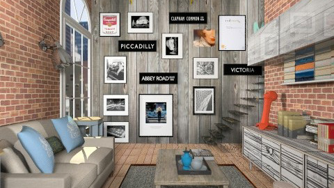 Art and Books - Eclectic - Office - by liling