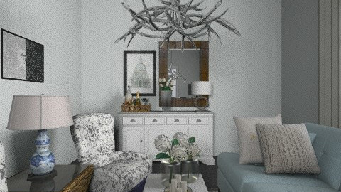 4th - Living room - by hunny