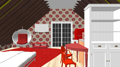 Red Apartment - by makennaC3