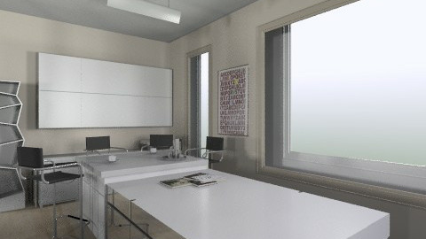 sala reunion5 - Eclectic - Office - by mandys_saly