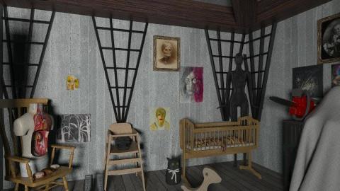Forgotten Nursery - Kids room - by CassW