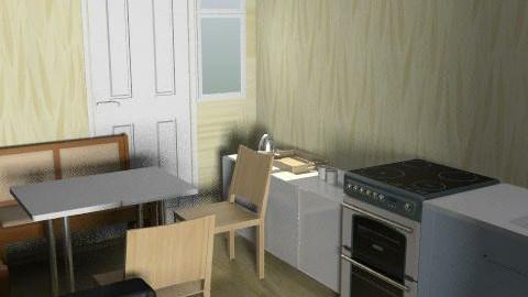 kitchen - Glamour - Kitchen - by ekaterina_kulikova