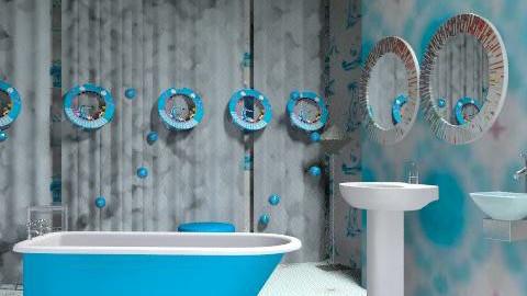 bathroom 7 - Classic - Bathroom - by asifgoldpk