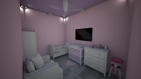 girls nursery - Modern - Kids room - by jade1111