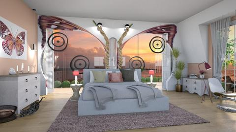 Playful Modern Bedroom - Living room - by ZsuzsannaCs