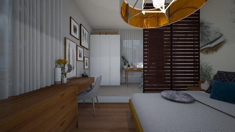 13 - Bedroom - by alina shrayner
