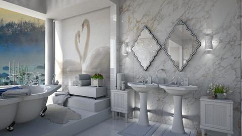 Swan  - Bathroom - by marocco