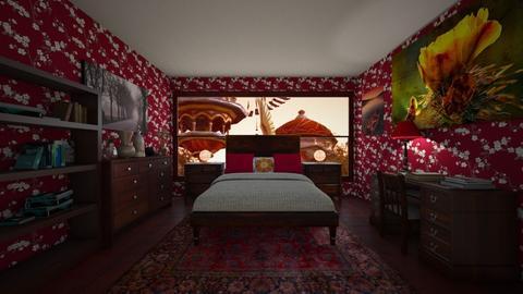 Firestorm - Bedroom - by scourgethekid
