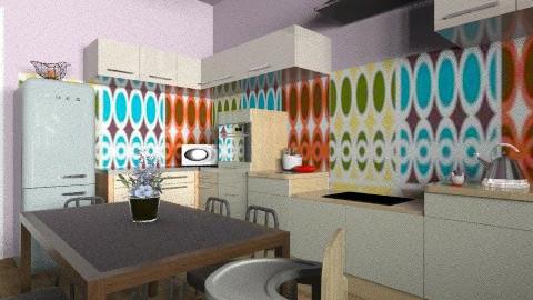 our kitchen - Eclectic - Kitchen - by mrschicken