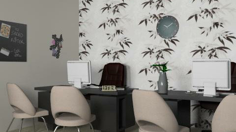 sales office 1 - Glamour - Office - by JennyHodges