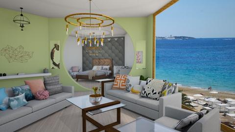 ibiza condo - Living room - by avawrightthewrightone