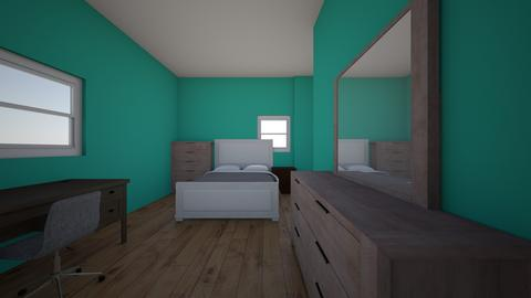 Julias Bedroom - Kids room - by jele1022
