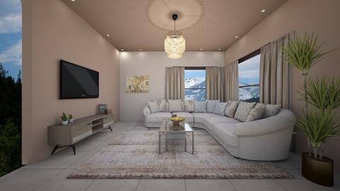 living room xn - Living room - by elhamsal24