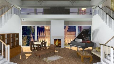 Living - Living room - by StefySlayer