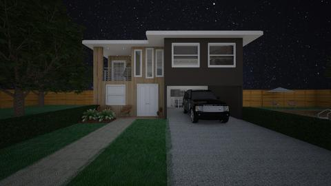 Modern House - by rlefk