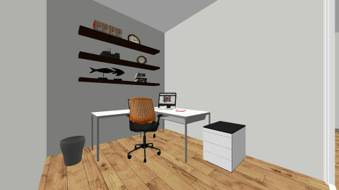 Mock workplace - Office - by aamartey