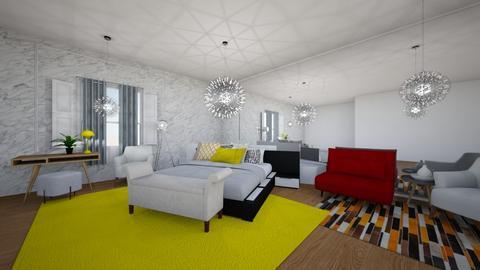bed - Bedroom - by Samia Ghafrani