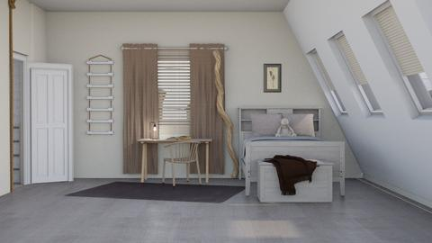 Attic - Bedroom - by RaeCam