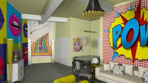 pow - Retro - Living room - by FRANKHAM
