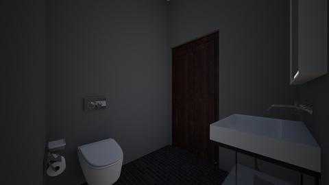 kawiarnia - Bathroom - by xwksx