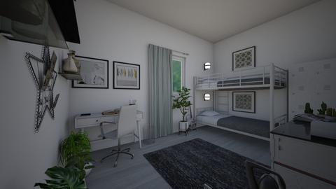 Minimal Dorm Room - Minimal - Bedroom - by lexilav
