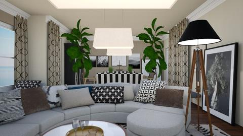Family Room - Living room - by chania