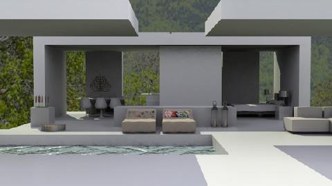House - Modern - Garden - by monicabl