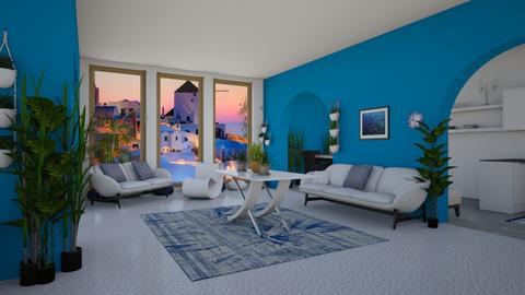 Little City Home - Living room - by starbringer23