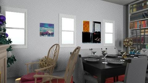 chrismas corridor - Living room - by evvivameiauia